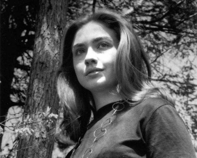 Ảnh hiếm về thời thanh xuân của Hillary Clinton - ảnh 1