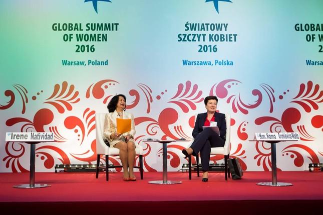 Bà Irina Bokova nhận giải Lãnh đạo nữ Toàn cầu  - ảnh 2