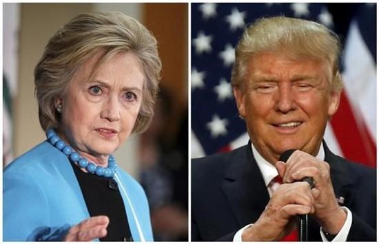 Clinton vượt Trump trong cuộc đua vào Nhà Trắng - ảnh 1