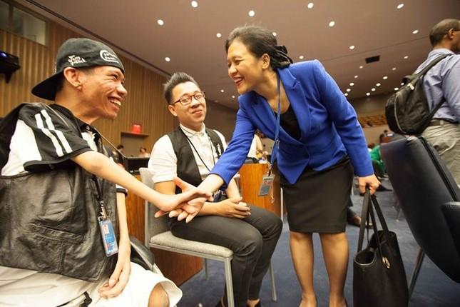 Nạn nhân Da cam VN lần đầu tới đối thoại của Liên Hợp Quốc - ảnh 2