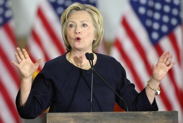 Bà Clinton thắng áp đảo ở thủ đô Washington - ảnh 1