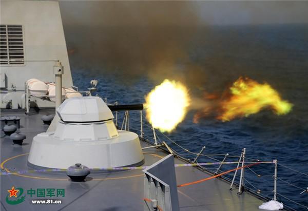 Biển Đông 'nóng rãy' vì tập trận quân sự - ảnh 1