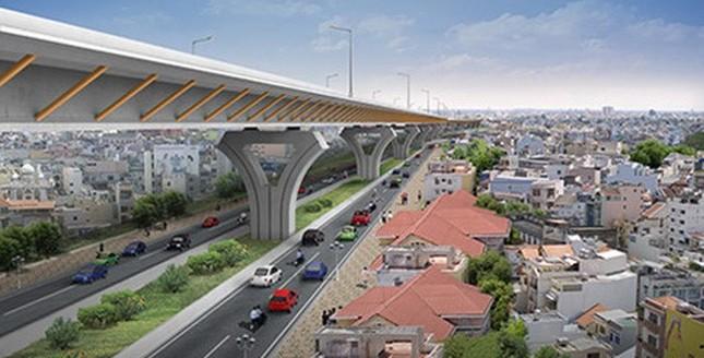 Hơn 15.000 tỷ xây đường trên cao vào trung tâm Sài Gòn - ảnh 1
