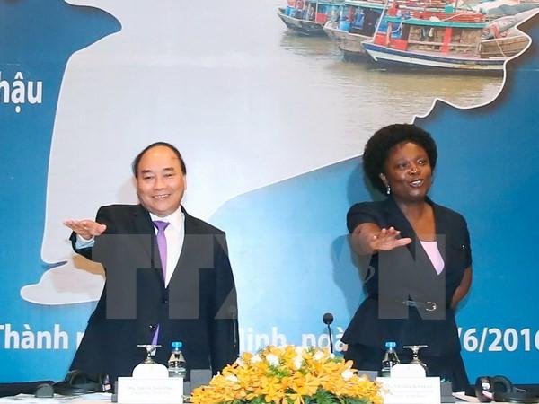 Thủ tướng Nguyễn Xuân Phúc dự Diễn đàn Đồng bằng sông Cửu Long - ảnh 1