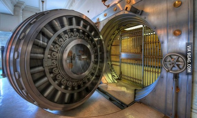 Những hầm vàng bất khả xâm phạm trên thế giới - ảnh 2