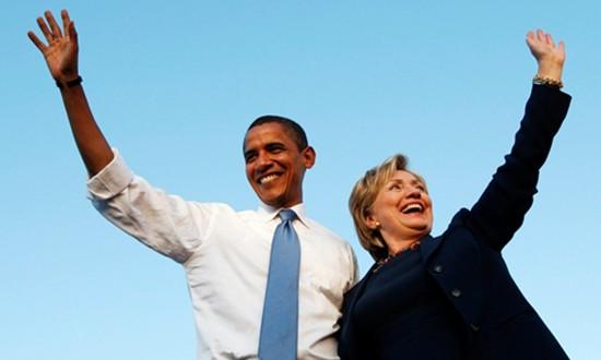 Món quà quý Tổng thống Obama để lại cho bà Clinton - ảnh 1