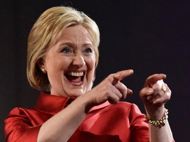 Bầu cử sơ bộ Mỹ: Hillary Clinton chính thức chiến thắng - ảnh 1