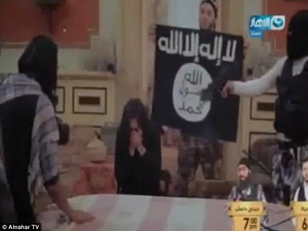 Nữ diễn viên Ai Cập hoảng loạn khi tưởng mình bị IS bắt cóc - ảnh 1