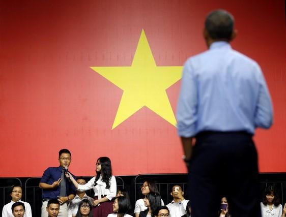 Giới trẻ Việt háo hức chờ gặp lại Tổng thống Obama - ảnh 1
