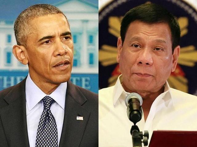 Bị thóa mạ, Obama huỷ cuộc gặp Tổng thống Philippines - ảnh 1