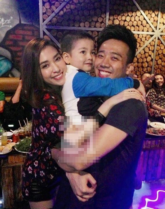 Bạn gái cũ Trấn Thành từng kết hôn và có con trai - anh 1