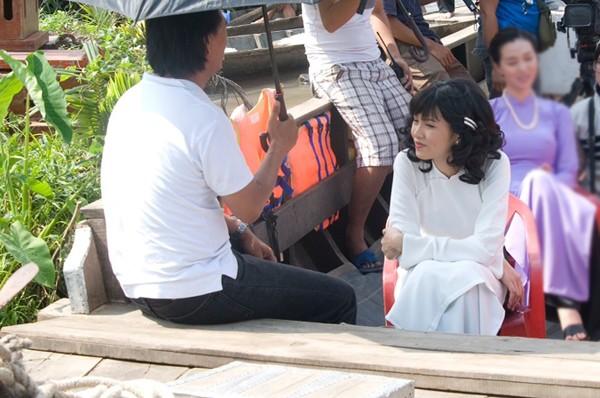 Diễm Hương thản nhiên đi đóng phim giữa bão scandal - anh 3