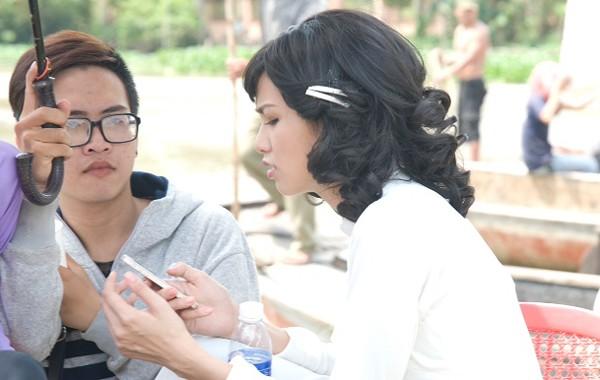 Diễm Hương thản nhiên đi đóng phim giữa bão scandal - anh 5