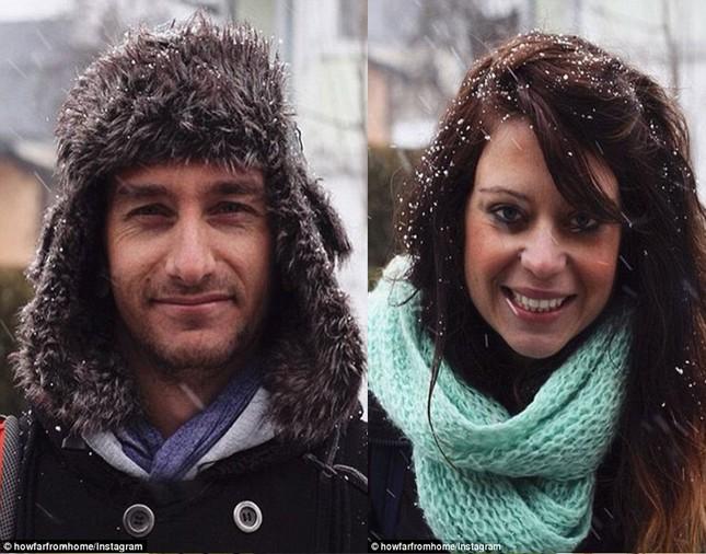 Cặp vợ chồng cùng bỏ việc đi du lịch vòng quanh thế giới - anh 1
