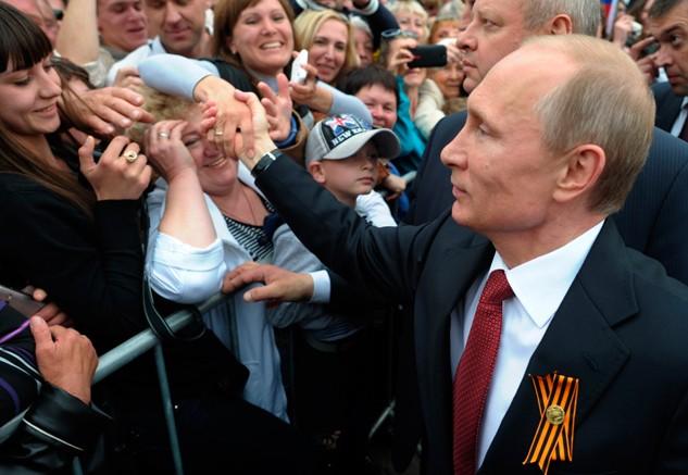 Đường phố Nga ngập tràn sắc đỏ kỷ niệm ngày chiến thắng phát xít - anh 5