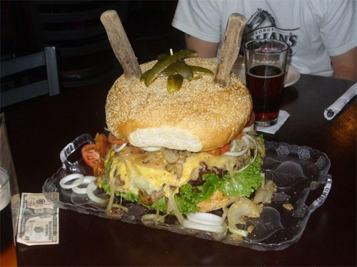 Những suất ăn khổng lồ kỷ lục thế giới - anh 4