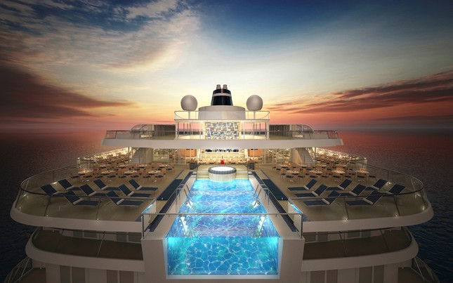 Bể bơi tuyệt đẹp trên tàu du lịch hạng sang - anh 9