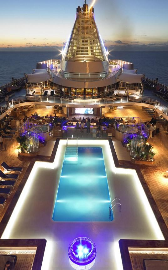 Bể bơi tuyệt đẹp trên tàu du lịch hạng sang - anh 8
