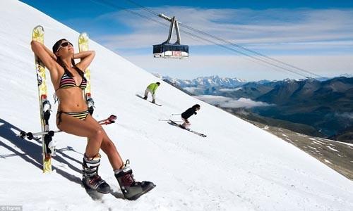 Điểm danh những địa điểm trượt tuyết mùa hè hấp dẫn - anh 4