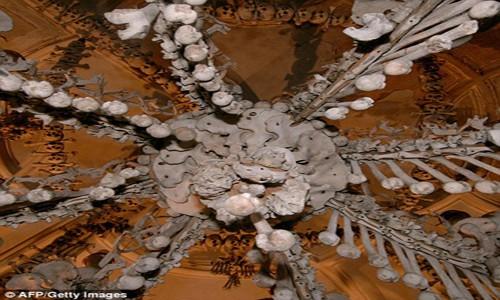 Rợn tóc gáy thăm nhà thờ xương người ở Séc - anh 4