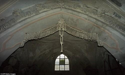 Rợn tóc gáy thăm nhà thờ xương người ở Séc - anh 3