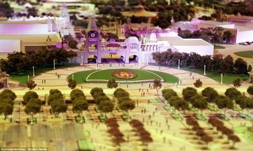 Hé lộ những hình ảnh đầu tiên của Disneyland ở Thượng Hải - anh 13