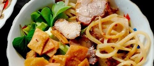 Cao Lầu – món ăn làm nên thương hiệu miền phố Hội - anh 4