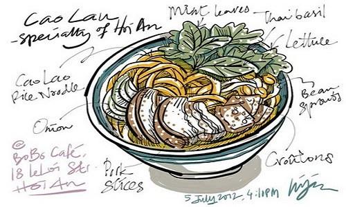 Cao Lầu – món ăn làm nên thương hiệu miền phố Hội - anh 7