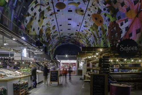 Ghé thăm chợ siêu lớn ở Rottenham, Hà Lan - anh 5