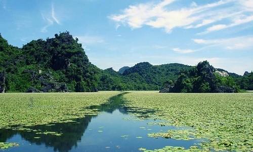 """Chiêm ngưỡng vẻ đẹp của """"Vịnh Hạ Long trên cạn"""" tại Hà Nội - anh 7"""