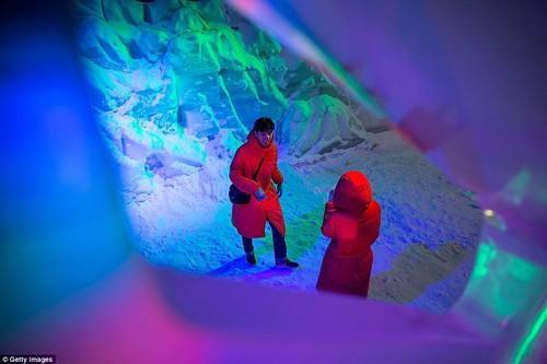 Ghé thăm công viên tuyết lớn nhất Đông Nam Á ở Thái Lan - anh 4