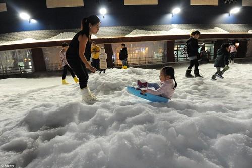 Ghé thăm công viên tuyết lớn nhất Đông Nam Á ở Thái Lan - anh 7