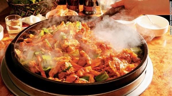 Tìm hiểu món ăn Hàn Quốc qua bản đồ ẩm thực thú vị - anh 1