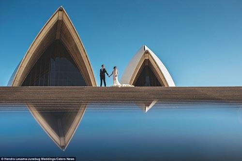 """""""Ngất ngây"""" với những bộ ảnh cưới đẹp đến xao lòng trên khắp thế giới - anh 1"""