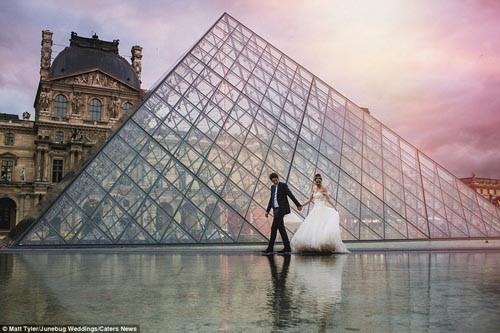"""""""Ngất ngây"""" với những bộ ảnh cưới đẹp đến xao lòng trên khắp thế giới - anh 13"""