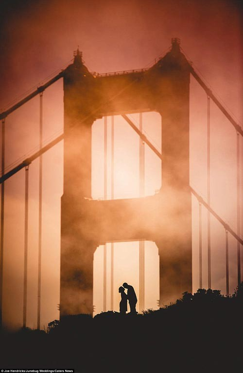 """""""Ngất ngây"""" với những bộ ảnh cưới đẹp đến xao lòng trên khắp thế giới - anh 17"""