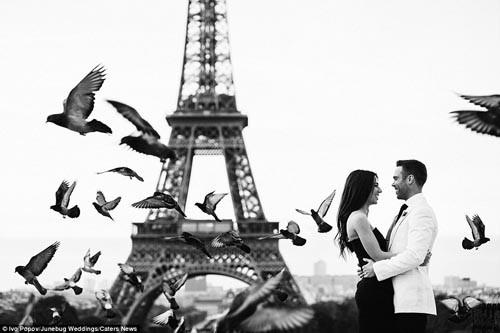 """""""Ngất ngây"""" với những bộ ảnh cưới đẹp đến xao lòng trên khắp thế giới - anh 22"""