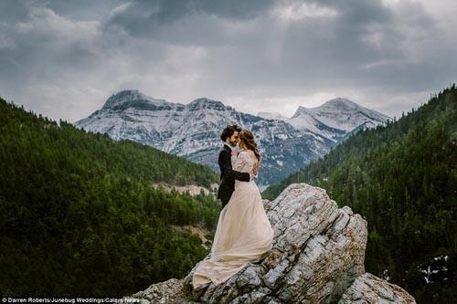 """""""Ngất ngây"""" với những bộ ảnh cưới đẹp đến xao lòng trên khắp thế giới - anh 4"""