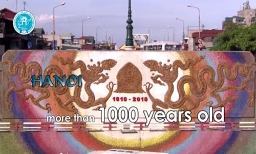 MC Vân Hugo duyên dáng bên hoa sen trong video quảng bá vẻ đẹp Hà Nội - anh 6