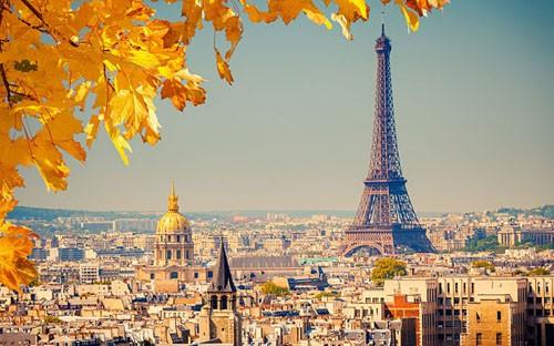 Ngắm cảnh mùa thu đẹp đến xao lòng ở Paris - anh 1