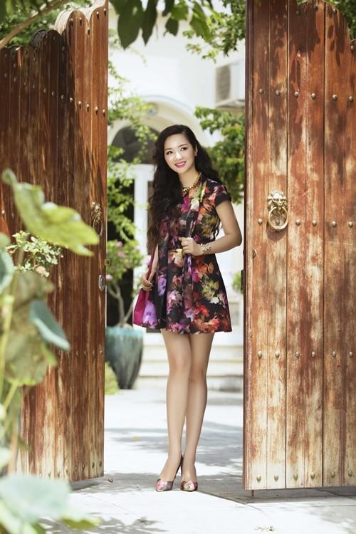 Ngỡ ngàng vẻ đẹp không tuổi của Hoa hậu Giáng My - anh 1