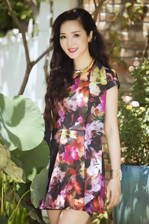 Ngỡ ngàng vẻ đẹp không tuổi của Hoa hậu Giáng My - anh 3