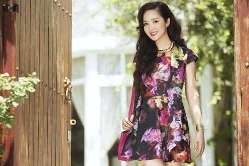Ngỡ ngàng vẻ đẹp không tuổi của Hoa hậu Giáng My - anh 6