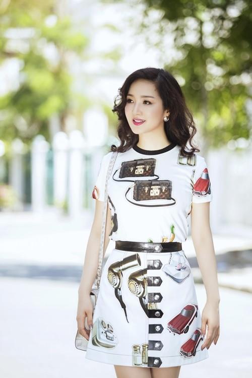 Ngỡ ngàng vẻ đẹp không tuổi của Hoa hậu Giáng My - anh 9