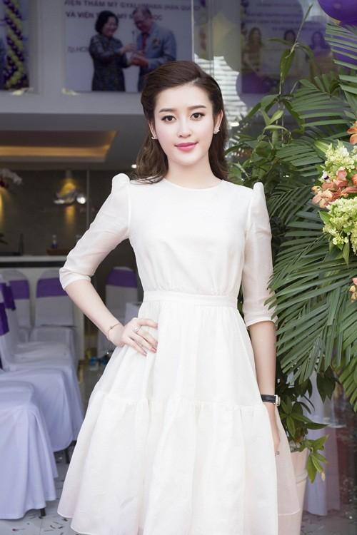 Á hậu Huyền My đẹp tinh khôi trong vai trò đại sứ thương hiệu - anh 5