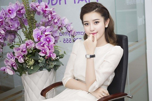 Á hậu Huyền My đẹp tinh khôi trong vai trò đại sứ thương hiệu - anh 8