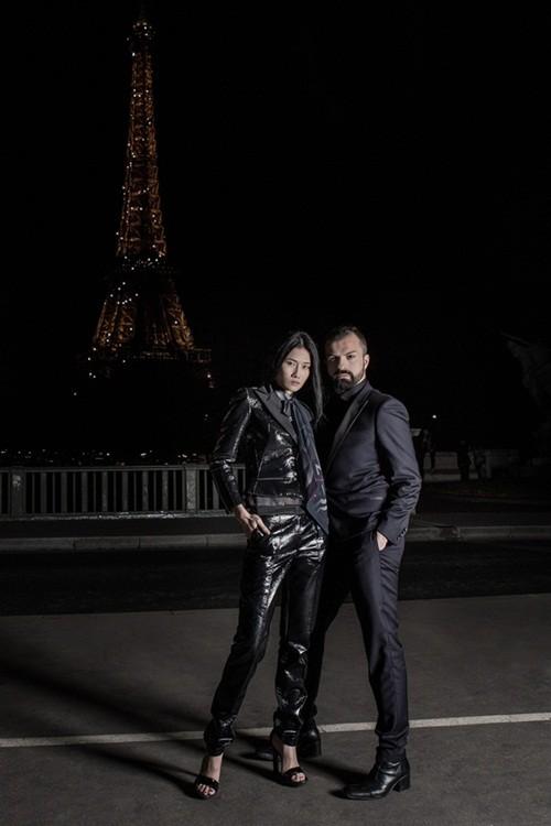 Kha Mỹ Vân đầy cá tính mở màn cho show diễn cao cấp tại Paris - anh 2