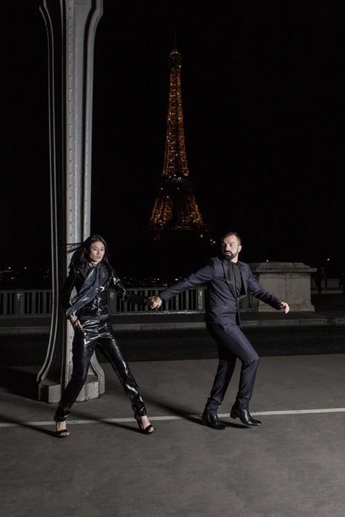 Kha Mỹ Vân đầy cá tính mở màn cho show diễn cao cấp tại Paris - anh 3
