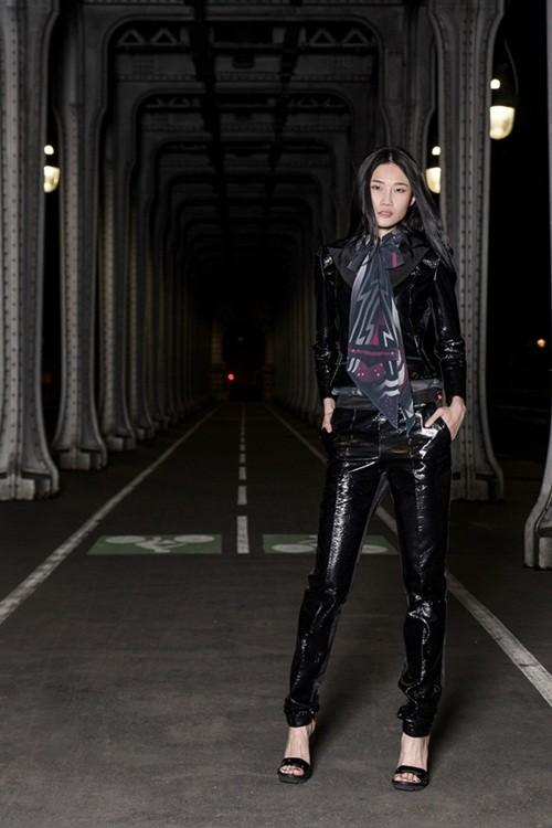 Kha Mỹ Vân đầy cá tính mở màn cho show diễn cao cấp tại Paris - anh 4