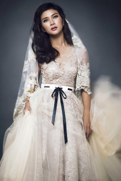 """Kim Tuyến bất ngờ hóa cô dâu đầy """"ma mị"""" trước khi lên đường sang Châu Âu - anh 5"""